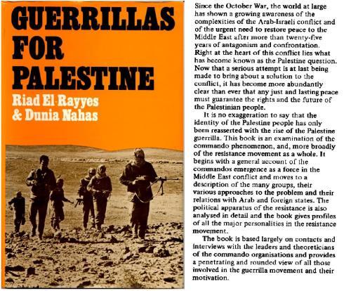 Book cover - Guerrillas for Palestine