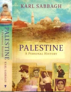 Book cover - Karl - Palestine a Personal History 45kb